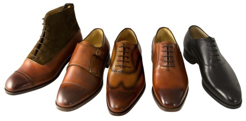 "Andrew Lock Shoes: Quality at $250 a Pop We got an email this week from Andrew Lock, a forum acquaintance who's apparently been working behind the scenes to develop a line of men's footwear. His goal was straightforward: good shoes for $250, retail. Certainly an admirable objective. Andrew Lock shoes are goodyear welted, made in Spain and England. The Spanish-made shoes are listed as ""benchgrade,"" and sell for $250. The English-made shoes, called ""handgrade,"" sell for $450, including this lovely boot. We haven't handled any of the shoes yet, but I'm ready to give Andrew some credit for targeting a niche that needed targeting: more affordable simple shoes. The $250 price point for the benchgrade line is $85 less than Allen Edmonds, their most direct competition. Andrew says he'll send us a pair, so in a few weeks we'll try to make a more comprehensive evaluation, but in the meantime, you can check out the line at andrewlockshoes.com."