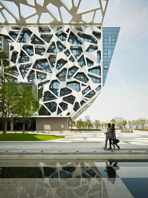 3inches:  Alibaba Headquarters in hangzhou, China by HASSELL Architects