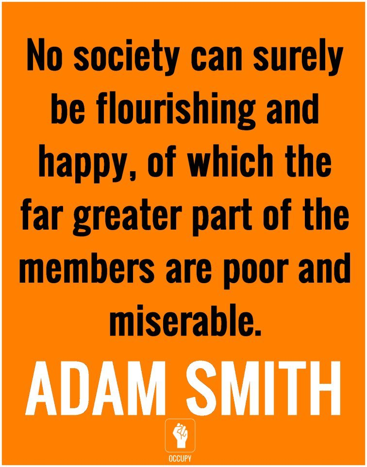 Give it up for Mr. Adam Smith, folks. He's here all week.