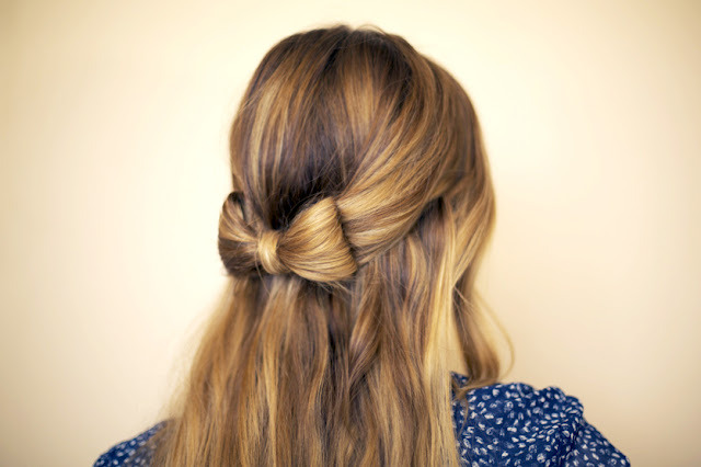 kistykreme:  How to Hair Bow from Hair and Make-up by Steph