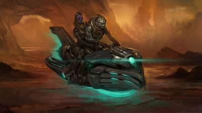 Garrus and Tali's Rannoch getaway by *DuneChampion