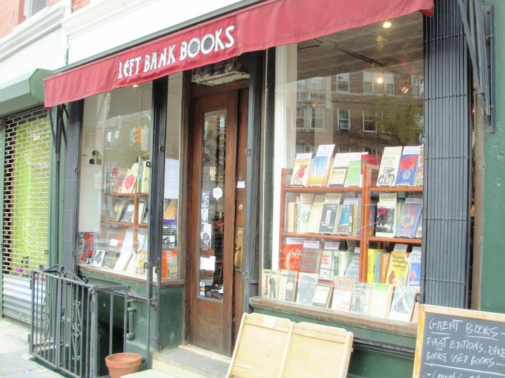 Left Bank Books, West Village, NY via Elle Brazil