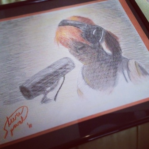 Hey guys, remember when I could draw? #instagram #drawing #hayleywilliams #paramore #art #illustration @paramorestudio @xchadballx  (Taken with Instagram)