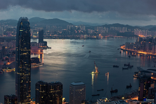 1iberated:  Hong Kong :: Victoria Harbour by Clementqc on Flickr.