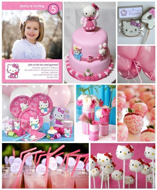 foodisinspiration:  So much Hello Kitty goodness  I want a hello kitty party. Even tho I'm going to be turning 22