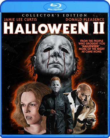 Halloween 2 Bluray art available from Shout Factory on September 18th