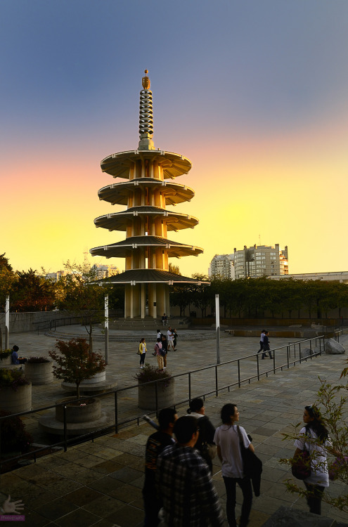 Peace Pagoda - Japantown, San Francisco