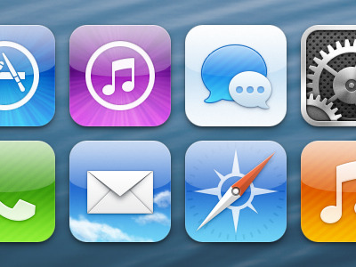 iOS icons I wish I had via The Verge Forums