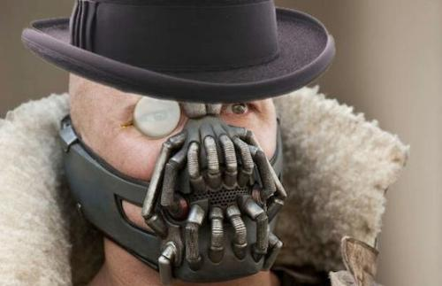 Every time I heard Bane speak in The Dark Knight Rises