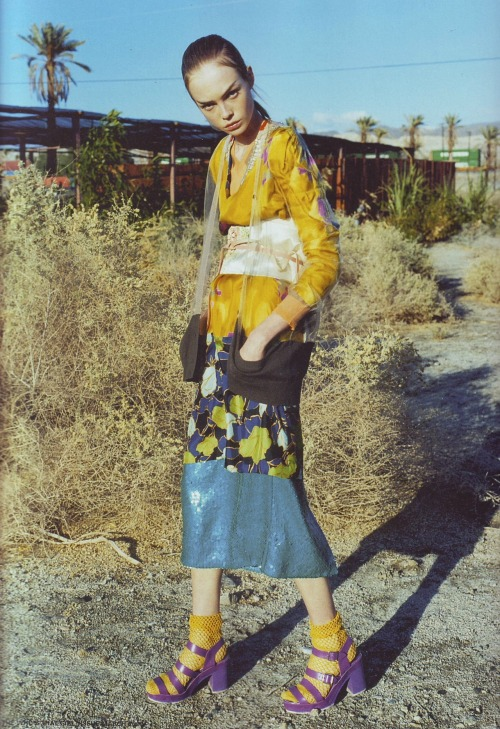diafano:  Siri Tollerod by Nick Haymes for i-D March 2008