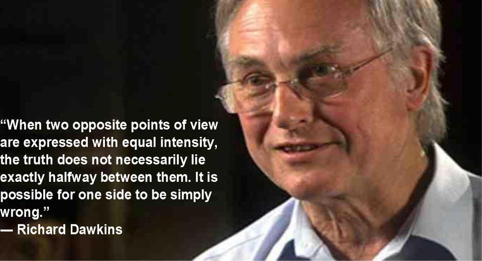 ihatepeacocks:  Good Quote from Richard Dawkins