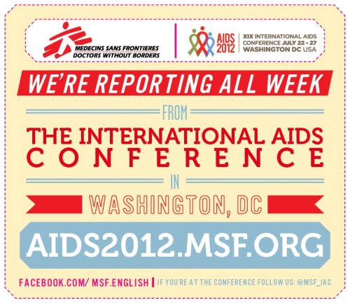 MSF @ the International AIDS Conference
