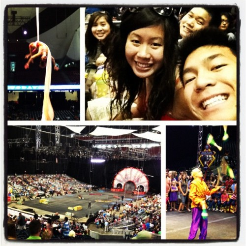 Circus with the family!!