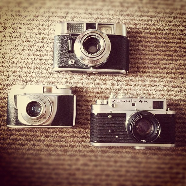 I didn't get another camera today. I got three.  (Taken with Instagram)