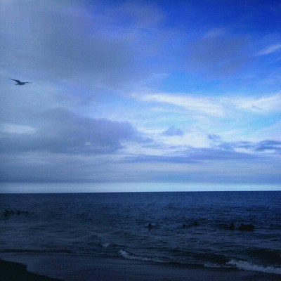 Higher Plans #sky #ocean #wearejuxt (Taken with Instagram)