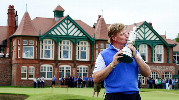 urbynloft:  Ernie Els rallies to win Open  Scott's three-putt on 16 is what really killed him. The tee shot onto the bunker on 18 sealed the deal, as far as I was concerned. Ernie didn't make many putts this week, but he made two huuuuge birdie putts when it mattered, and Scott missed two big time par putts. That's why Els won. Good on him.