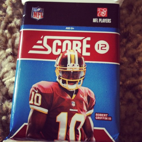 Football Cards (Taken with Instagram)