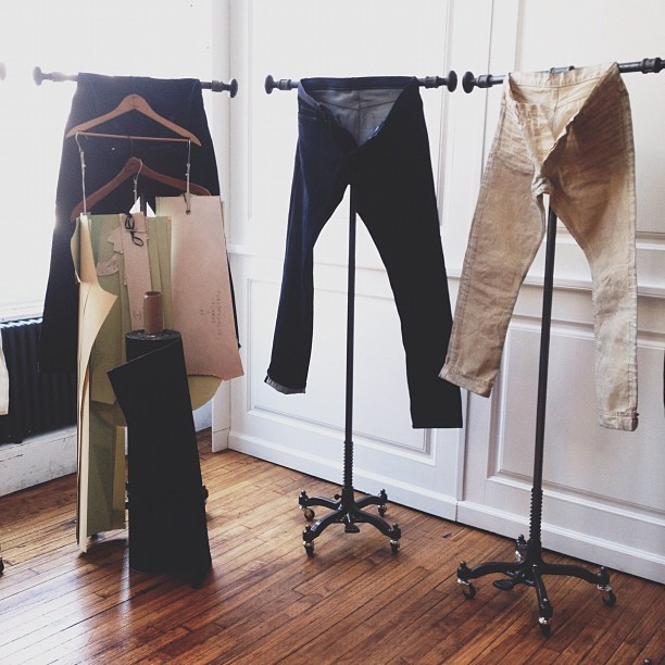 These @publicschoolnyc denim looking good! 👍👍 #publicschoolnyc #projectshow  (Taken with Instagram)