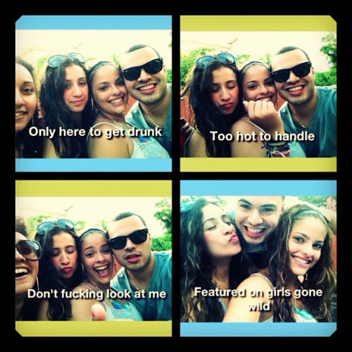 I LOVE THEM. 💚💙 #idcapthat #friends #bf #silly #fun #candid #drunk #love #funny #instagood @suly_lopez @jennx15  (Taken with Instagram)