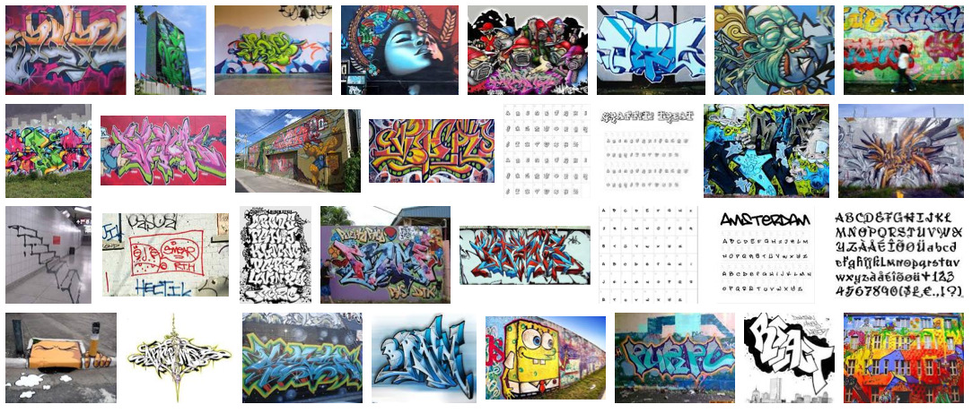 """Graffiti,"" Google Image search by Rob Walker, July 13, 2012"