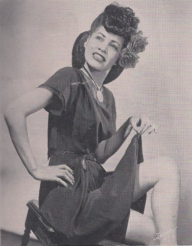 "Singer and actress Ruby Hill in 1946 as she appeared in the program for the Broadway production of ""St. Louis Woman,"" written by Arna Bontemps and Countee Cullen with music by Harold Arlen and lyrics by Johnny Mercer."