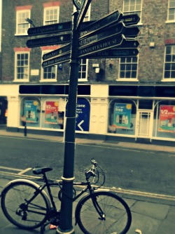 Bicycle in York