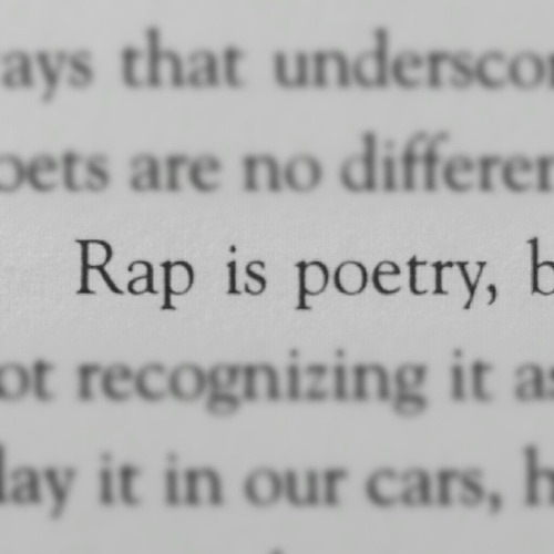 thetpr:  Rap is Poetry