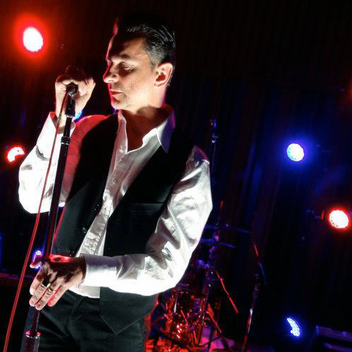 Dave Gahan joins Soulsavers onstage at Capitol Records in Los Angeles. Photo album here. Photo by Leah (@designlk)