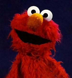 I prefer the furrier Elmo, nowadays he's very clean cut.