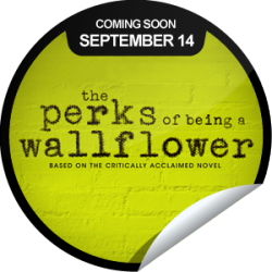 We are so excited for The Perks Of being A Wallflower movie! We can wait until September! :)