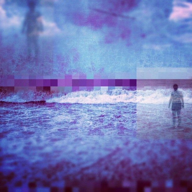 Waves of Perception #sundaybluesedit #wearejuxt (Taken with Instagram)