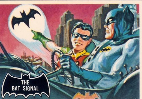 Batman card # 3 (1966)