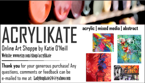 awh my cute little business card @ http://www.etsy.com/shop/acrylikate