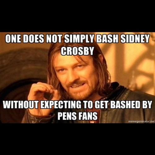 Simple logic #pens #hockey #SidneyCrosby  (Taken with Instagram)