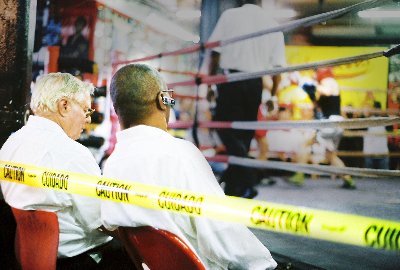 Gleason's Amateur Boxing Night Judges