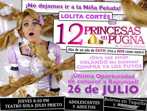 ¡¡No se la pierdan!! @12_Princesas