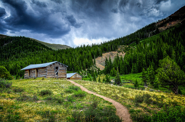 "Little Cabin on The Hillside - Independence Ghost Town on Flickr. Via Flickr: So with the unfortunate wild fires going on in my home state of Colorado. I have decided to do a print sale to help raise some money. I was just visiting and took a bunch of images around the Roaring Fork Valley. It made me think of how devastating it would be to see the valley I am from, go up in flames. I have put my favorite images from my trip home, up on my +SmugMug site for sale. And if you use ""FRIENDS"" you can get 20% off. If there is an image of mine you have been eager to purchase :) Let me know, and i'll get it up! Link to photos: tobyharriman.smugmug.com/Landscapes/Colorado/23835237_MVM… [www.tobyharriman.com] [facebook] [Google+] [Tumblr] [Twitter] [redbubble]View on Black © Toby Harriman all images Creative Commons Noncommercial. Please contact me before use in any publication."