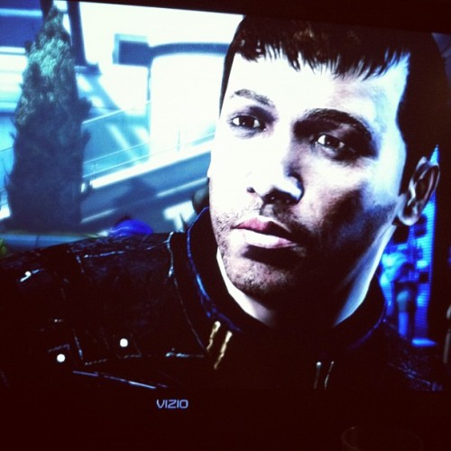 #commandershepard #masseffect (Taken with Instagram)