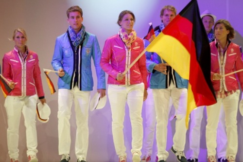 Olympic Fashion:  Team Germany 2012