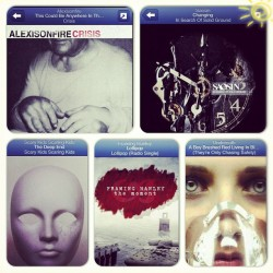 lexirae94:  Amazing Songs! 🎶 #Alexisonfire #Saosin #ScaryKidsScaringKids #FramingHanley #Underoath (Taken with Instagram)