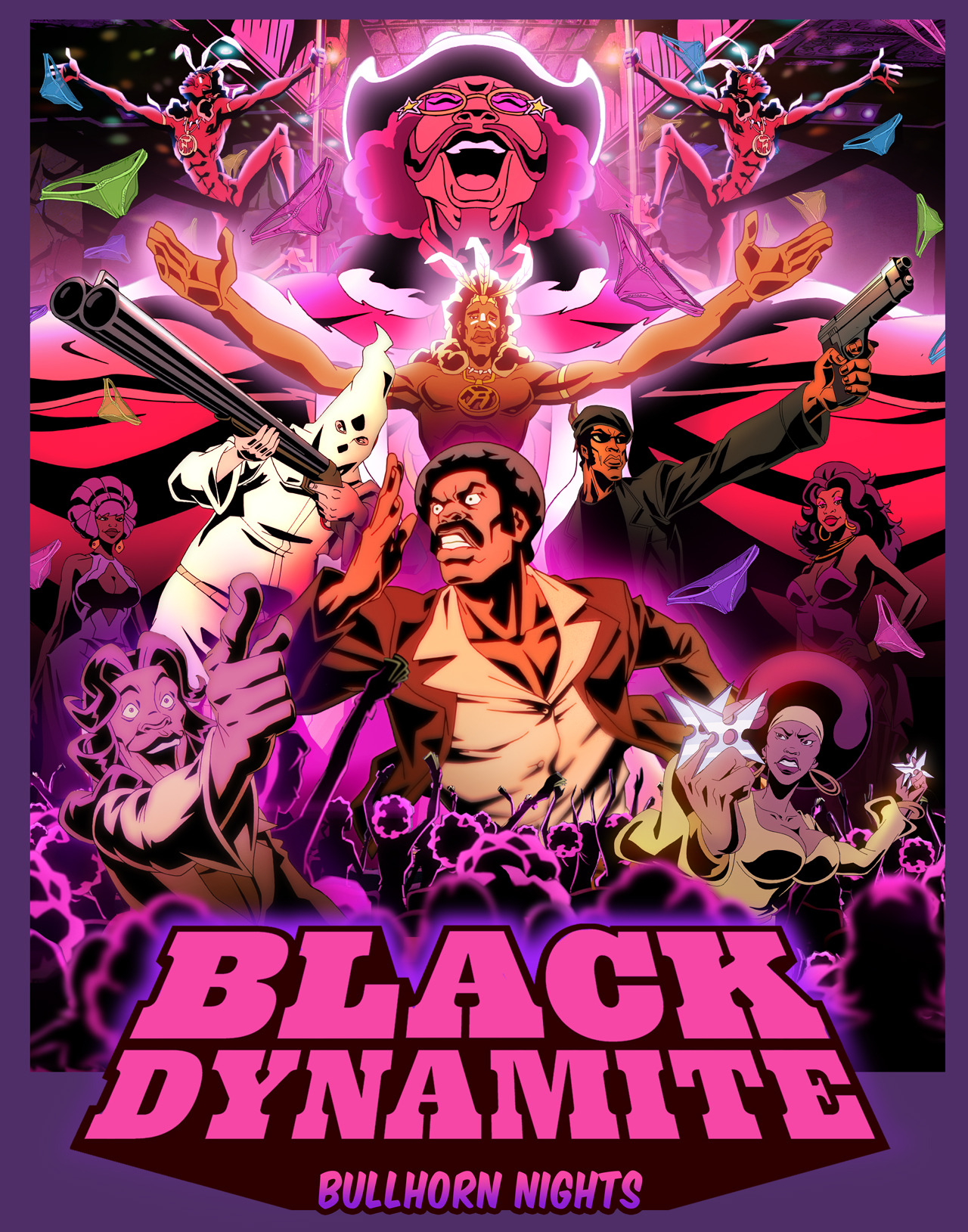 Watch an all new episode of Black Dynamite TONIGHT at 11:30pm on Adult Swim.
