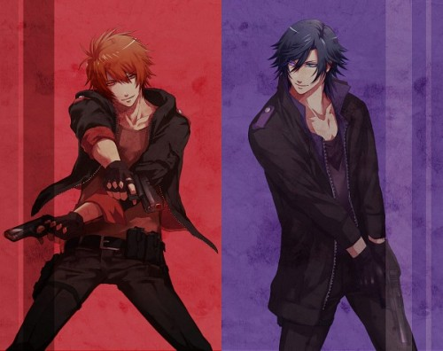 little-miss-soot-sprite:  Lock and load  God Otoya looks so badass <3  Honestly I'd be totally afraid of that Otoya omg.