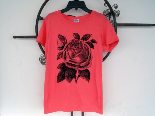Coral shirt I did. The classy side of Samsara Prints :P