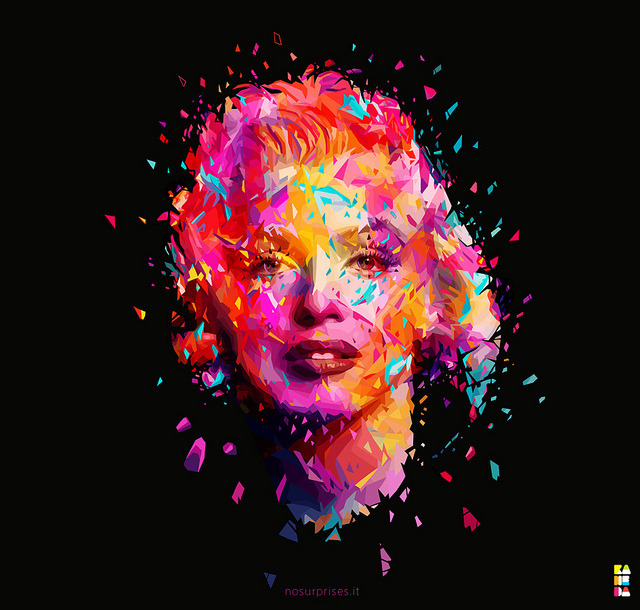 Marilyn Rework by kaneda99 on Flickr.