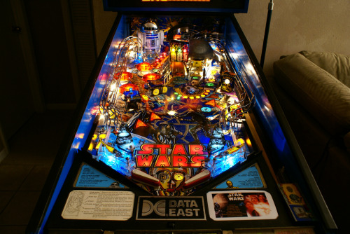 heyoscarwilde:  Pinball Wizard close up shots of the Star Wars pinball machine that was produced in 1992 :: photographs by Eric Smith