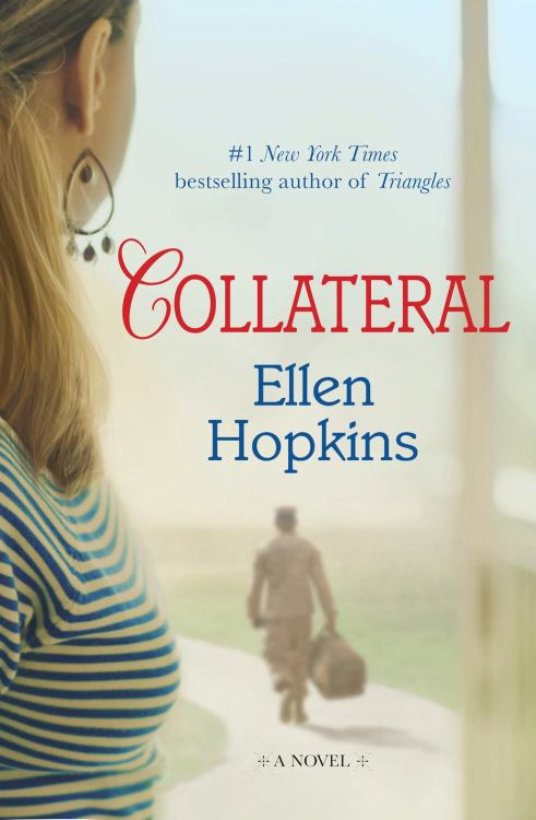 Check out the cover for @ellenhopkinsya's upcoming adult book. I've been hearing about this one forever it seems, so cannot wait to read it come November! I'm sure it'll be beautiful and heartbreaking as all things Ellen are.  ellenhopkins:  Coming November 6.