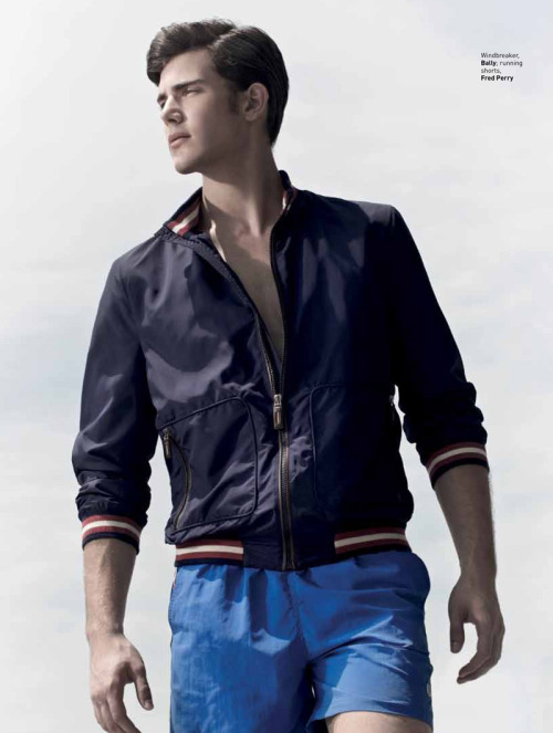 mensfashionworld:  Joey Slomowitz by Micky Wong for August Man Singapore