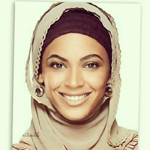 WHAT A SWEET GESTURE THANK YOU BEYONCE FOR WISHING US A HAPPY RAMADAN : ]