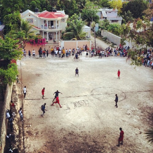 neighborhood soccer tournament in #haiti  (Taken with Instagram at Port-au-Prince)