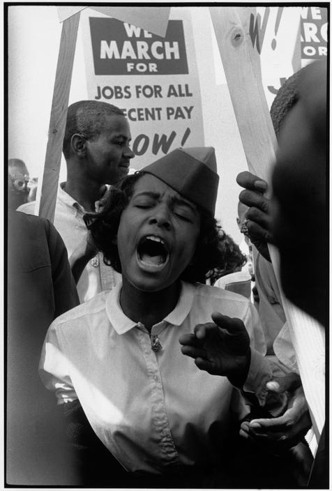 collective-history:  USA. Washington, D.C. August 28, 1963. The March on Washington. Leonard Freed